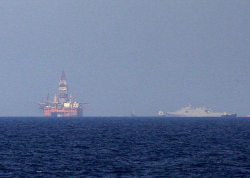 Trung Quốc có thể di chuyển giàn khoan đến khi tìm được dầu ở Biển Đông
