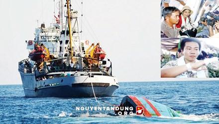Bằng chứng không thể chối cãi vụ Trung Quốc đâm chìm tàu cá Việt Nam
