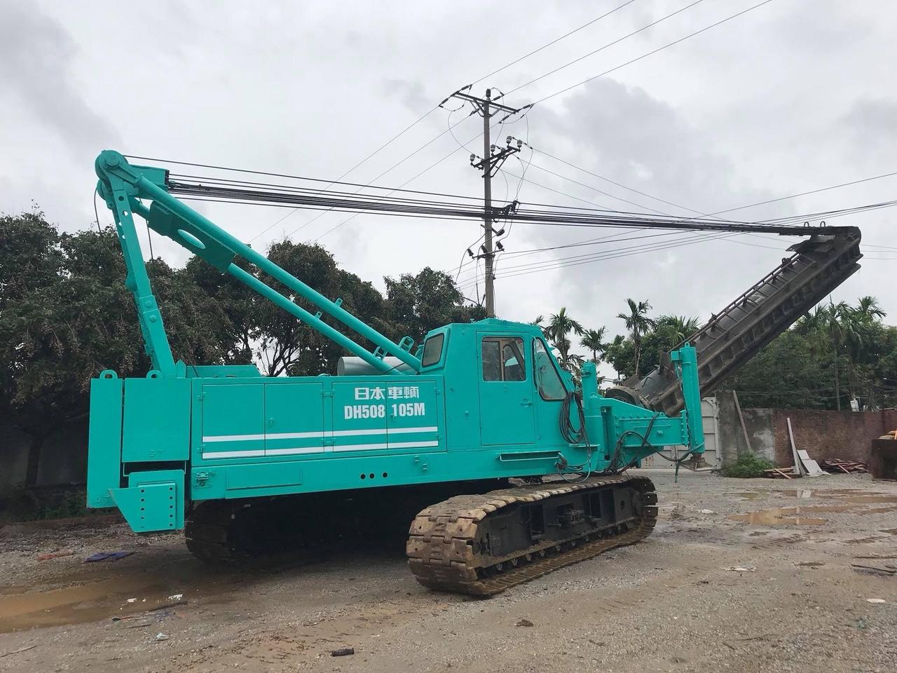Bán máy đóng cọc NISSHA DH508-105M